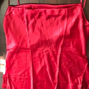 Other - Red Chemise & puppy dog key chain